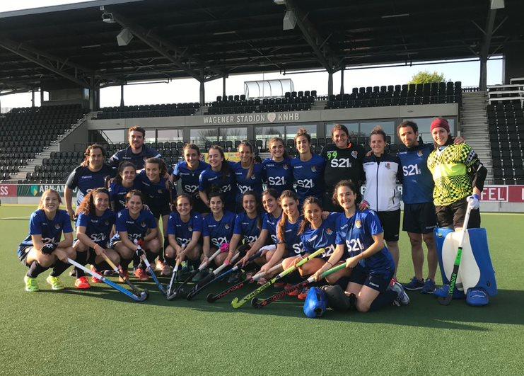 Hockey femenino de la Real Sociedad.
