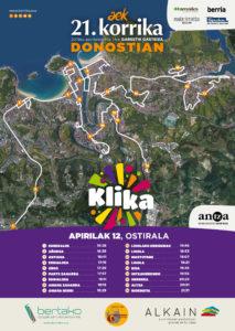 korrika 213x300 - El paso de la Korrika por Donostia provocará cambios en los autobuses