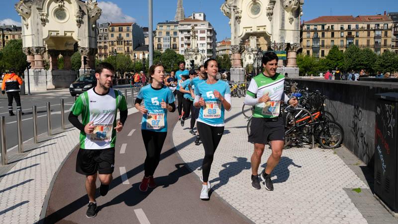 Un día espléndido para correr las Cinco Millas. Fotos: Santiago Farizano