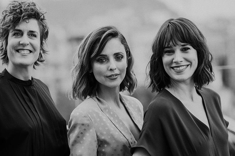 Aixa Villagrán, Leticia Dolera y Celia Freijeiro. Fotos: Santiago Farizano