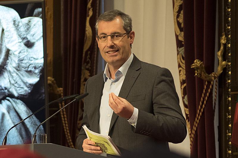 El diputado general Markel Olano. Foto: Santiago Farizano