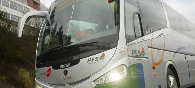 Archivo. Autobús de Pesa. Foto: Pesa