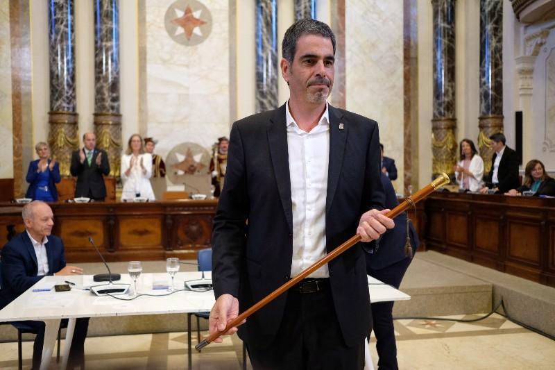 Eneko Goia, alcalde de Donostia. Fotos: Santiago Farizano