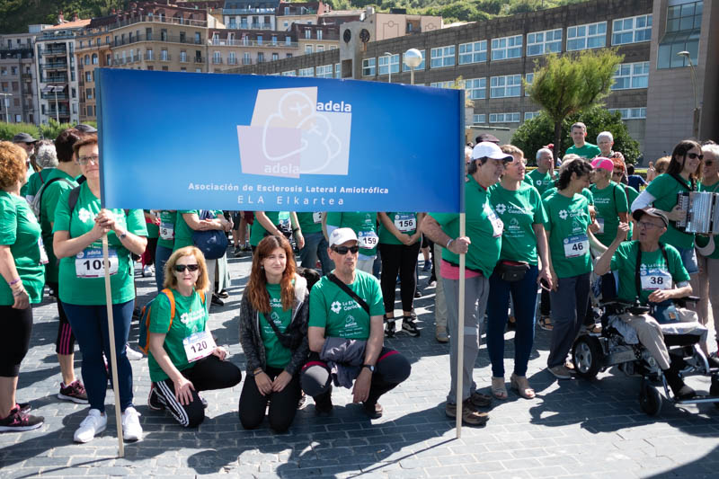 Marcha organizada por Adela. Fotos: Santiago Farizano
