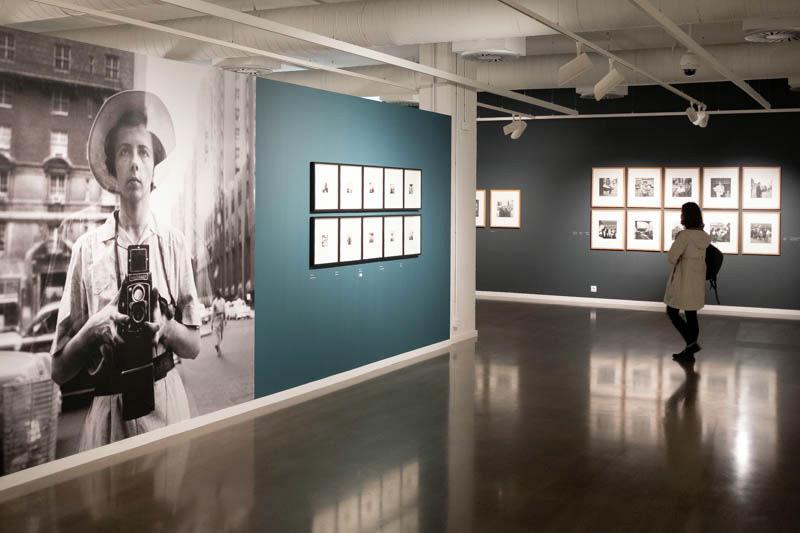 Exposición sobre Vivian Maier en Artegunea de Kutxa. Fotos: Santiago Farizano