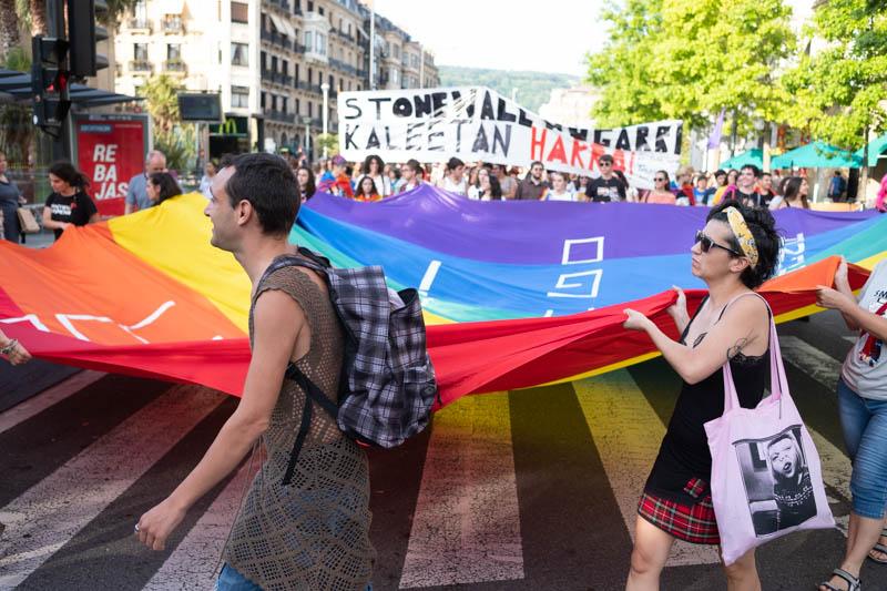 Fotos de la manifestación del Orgullo: Santiago Farizano