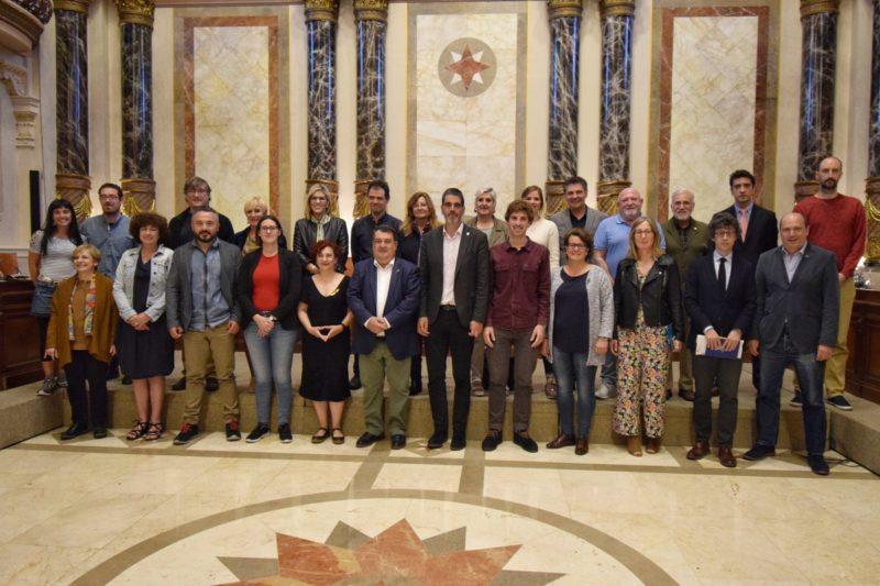 La corporación municipal en su último encuentro. Foto: Donostiako Udala
