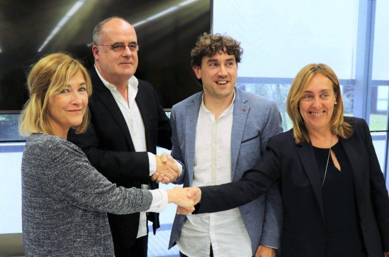 Presentación de la nueva estructura de la Diputación. Foto: PNV