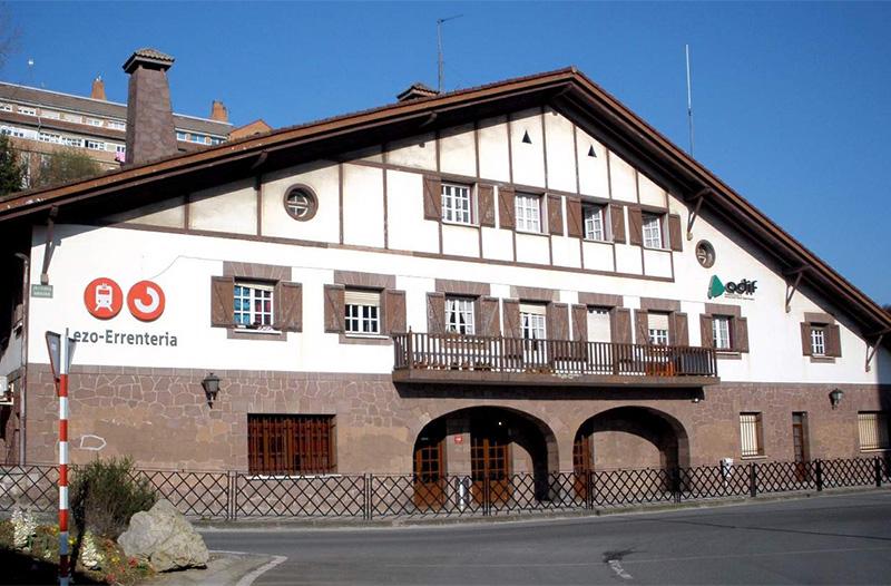 Estación de Lezo-Errenteria. Foto: Wikipedia