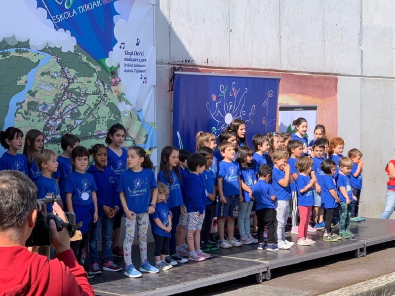 Acto el sábado en Usurbil. Foto: Gobierno vasco