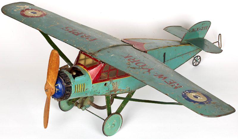 Uno de los juguetes que se exponen. Foto: Kutxa Fundazioa