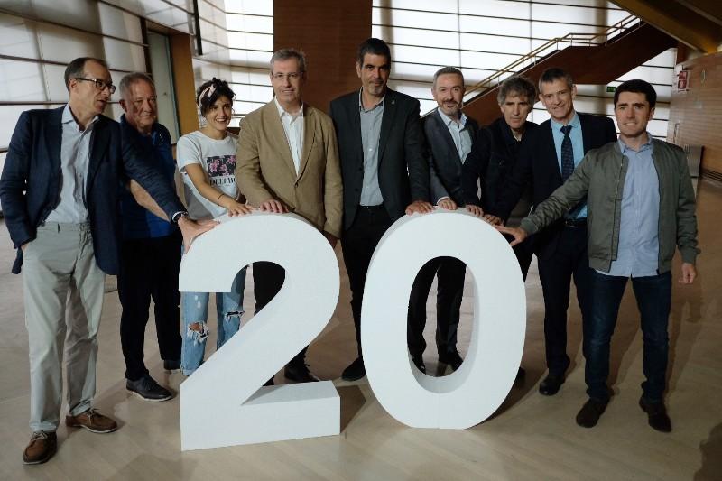 Presentación de la gala de los 20 años del Kursaal. Fotos: Santiago Farizano