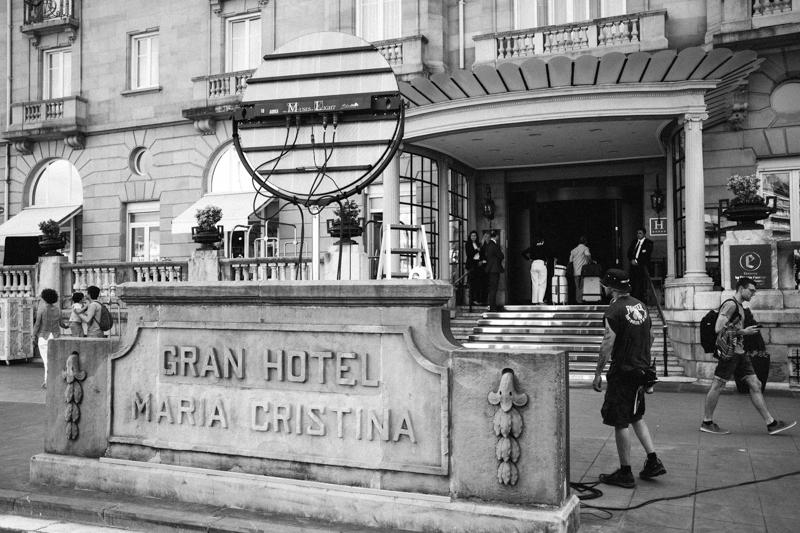 El miércoles en el Hotel María Cristina. Foto: Santiago Farizano