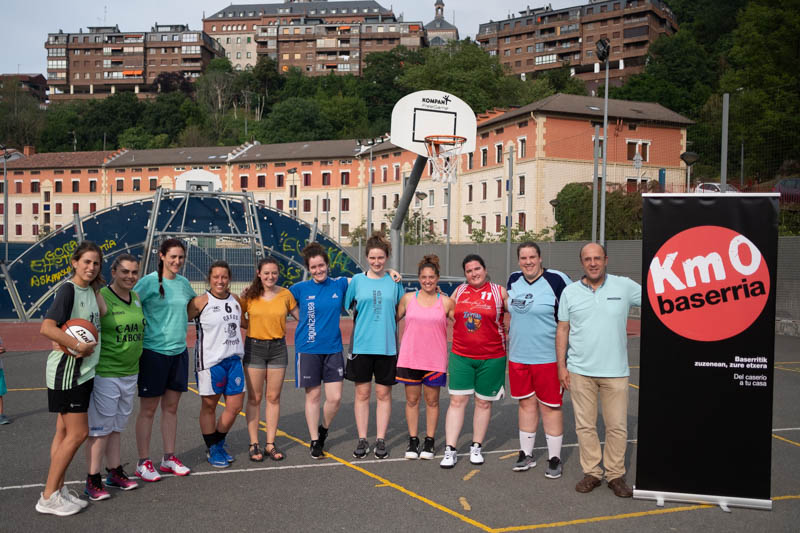 Las chicas de Luberri Km0 Baserria. Foto: Santiago Farizano