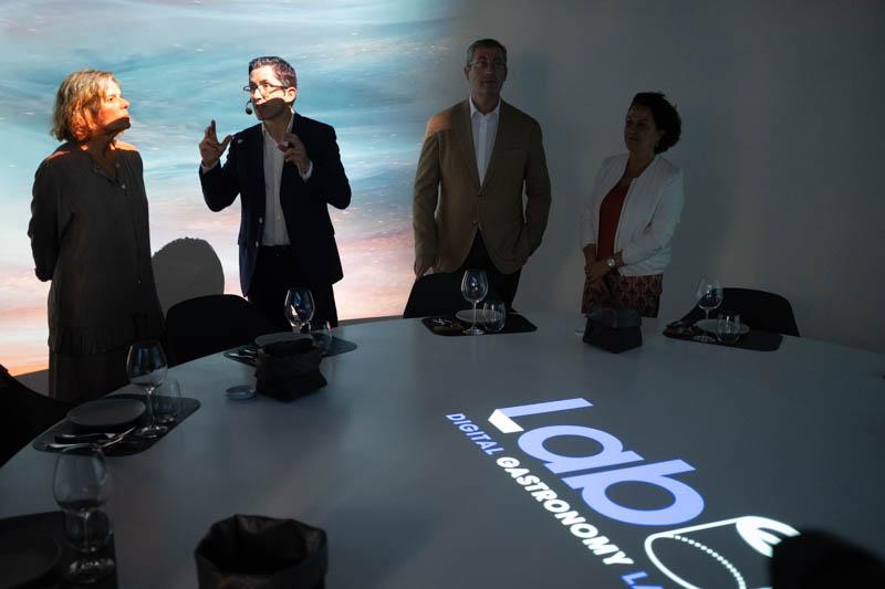 Presentación de LABe-Digital Gastronomy Lab. Fotos: Santiago Farizano