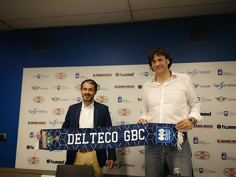 Presentación del entrenador del Delteco GBC Marcelo Nicola. Foto: GBC