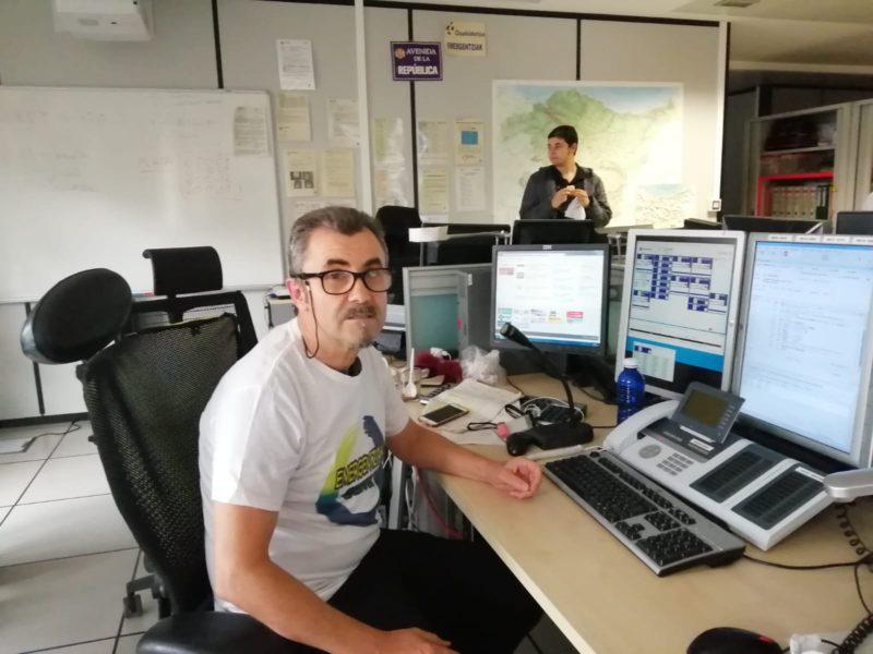 José Conejo, de Emergentziak Bizirik. Foto: DonostiTik.com