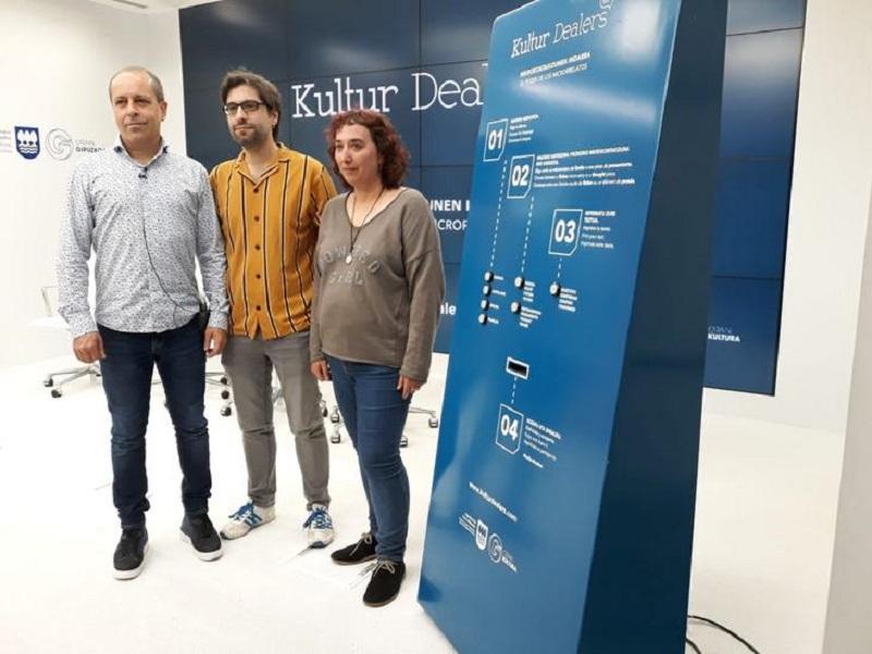 Presentación de la iniciativa Kultur Dealers en su nueva edición. Foto: Diputación