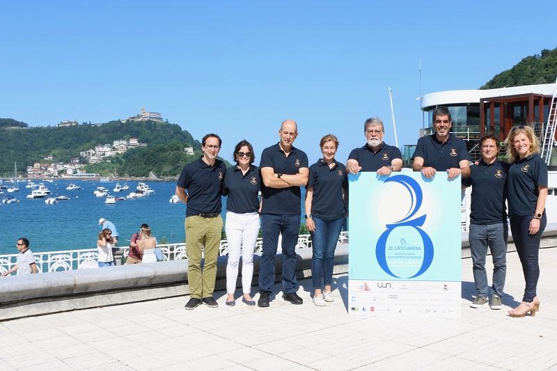 Presentación de  la 20 Edición de la Regata Internacional Ciudad de San Sebastián-Memorial Vicente Munilla. Foto: Ayto.
