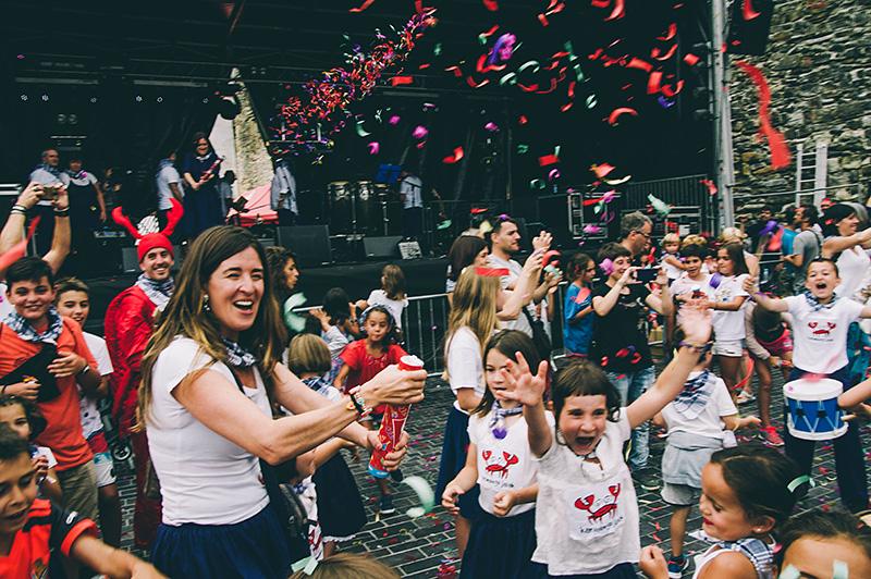 Fiestas del Carmen en el Puerto. Foto de archivo: Santiago Farizano