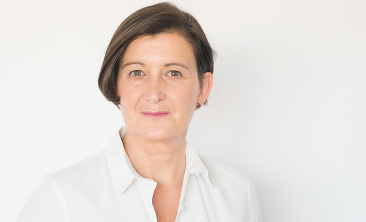 La experta en moda Olga Fuenmayor, hoy, en Kutxa Kultur.
