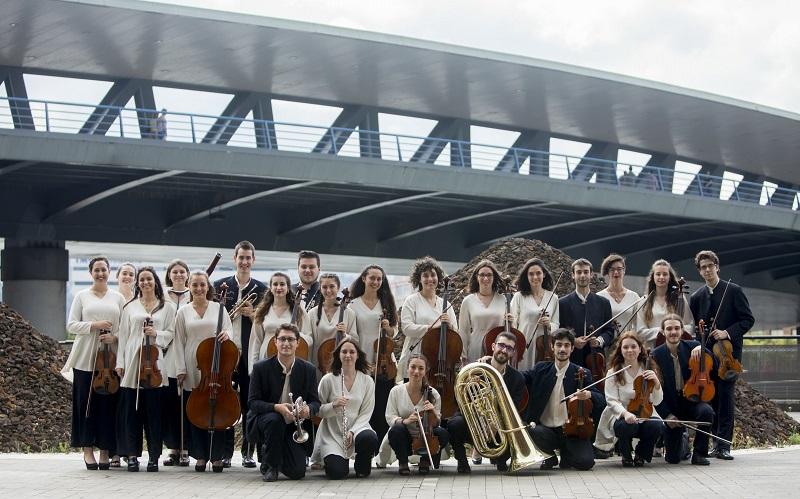 Imagen de la Joven Orquesta de Euskadi. Foto: Ego