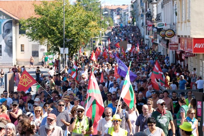 Fotos de la manifestación contra la Cumbre del G7: Santiago Farizano