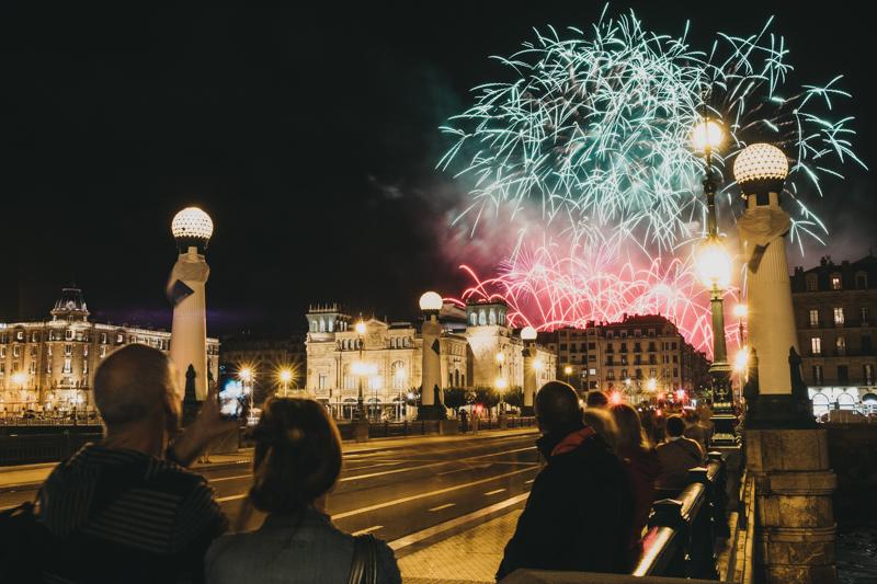 Scarsella Fireworks se lleva el concurso de fuegos. Foto: Santiago Farizano
