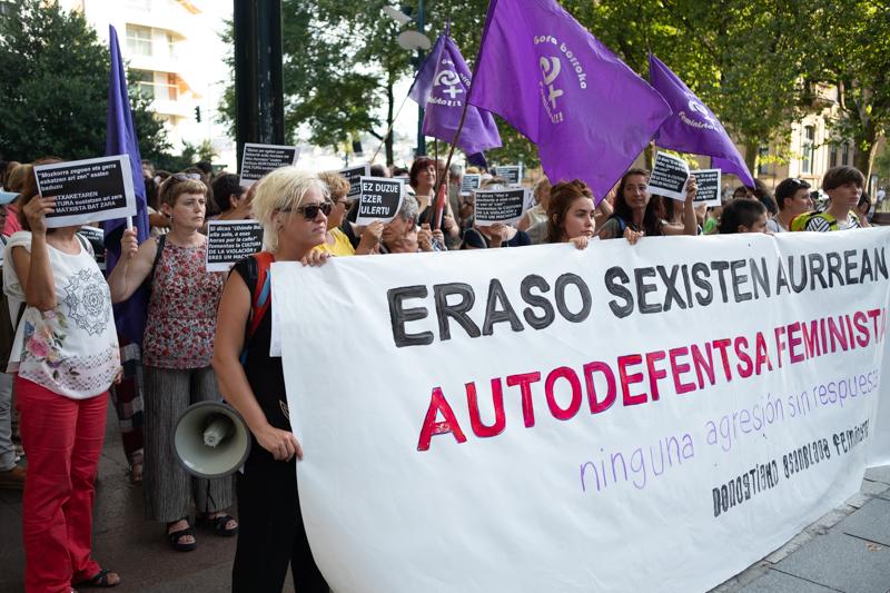 Manifestación feminista. Foto de archivo: Santiago Farizano