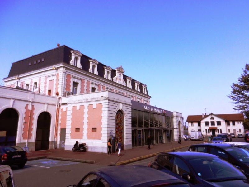 Estación de Hendaya. Foto: viajesferroviarios.blogspot.com