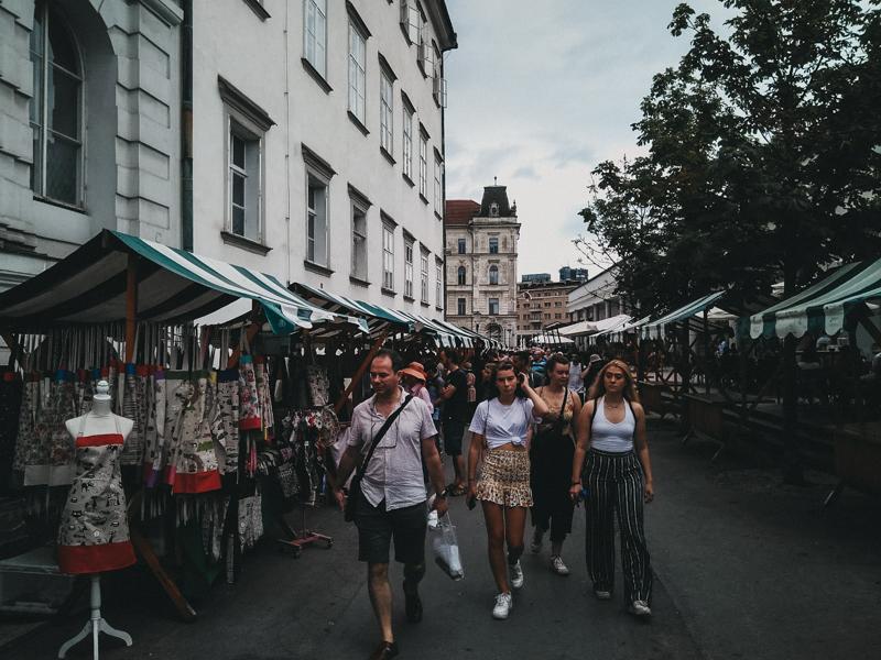Ljubljana, la capital eslovena.