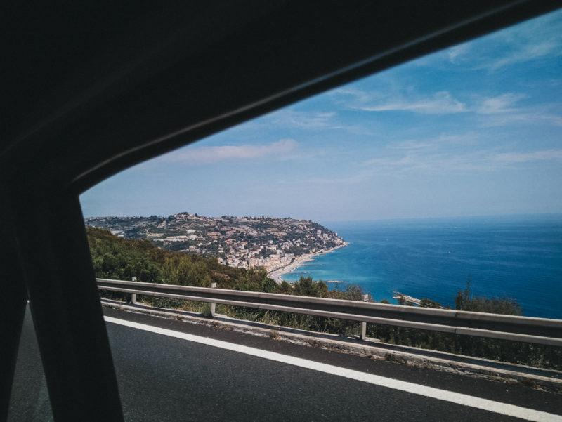 En dirección a Génova, destino al que no llegamos