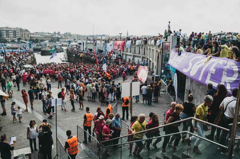 Jornada de regatas el pasado año en el Puerto. Foto: Santiago Farizano