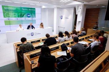 Presentación del informe. Foto: Diputación