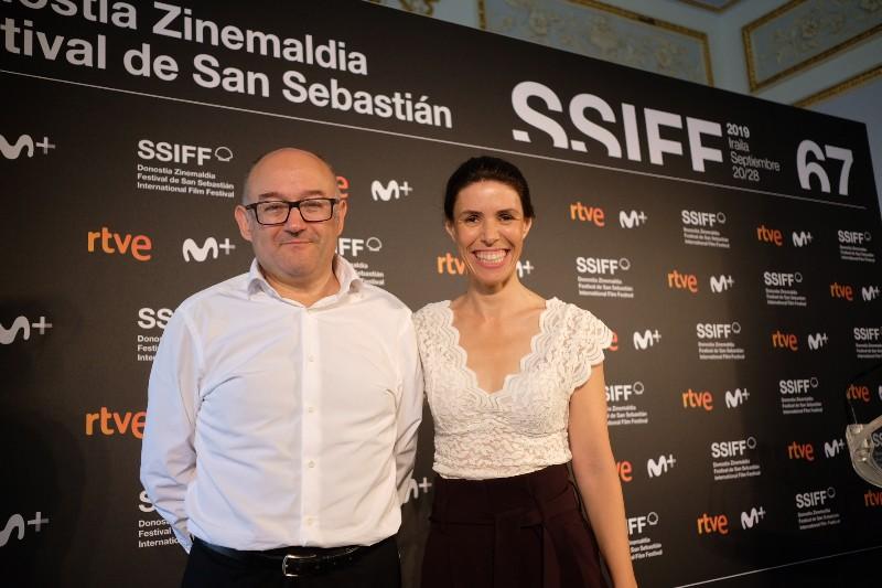 José Luis Rebordinos y Ruth Pérez de Anucita presentando el festival. Fotos: Santiago Farizano