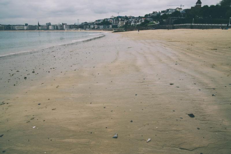 Playa de Ondarreta. Foto: Santiago Farizano