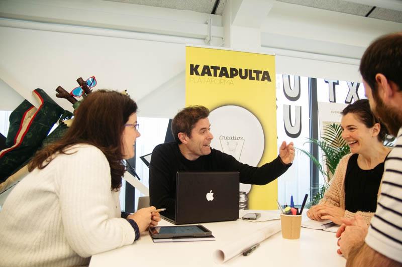 Emprendimientos con espacio en Kutxa Kultur Enea.Foto: Santiago Farizano