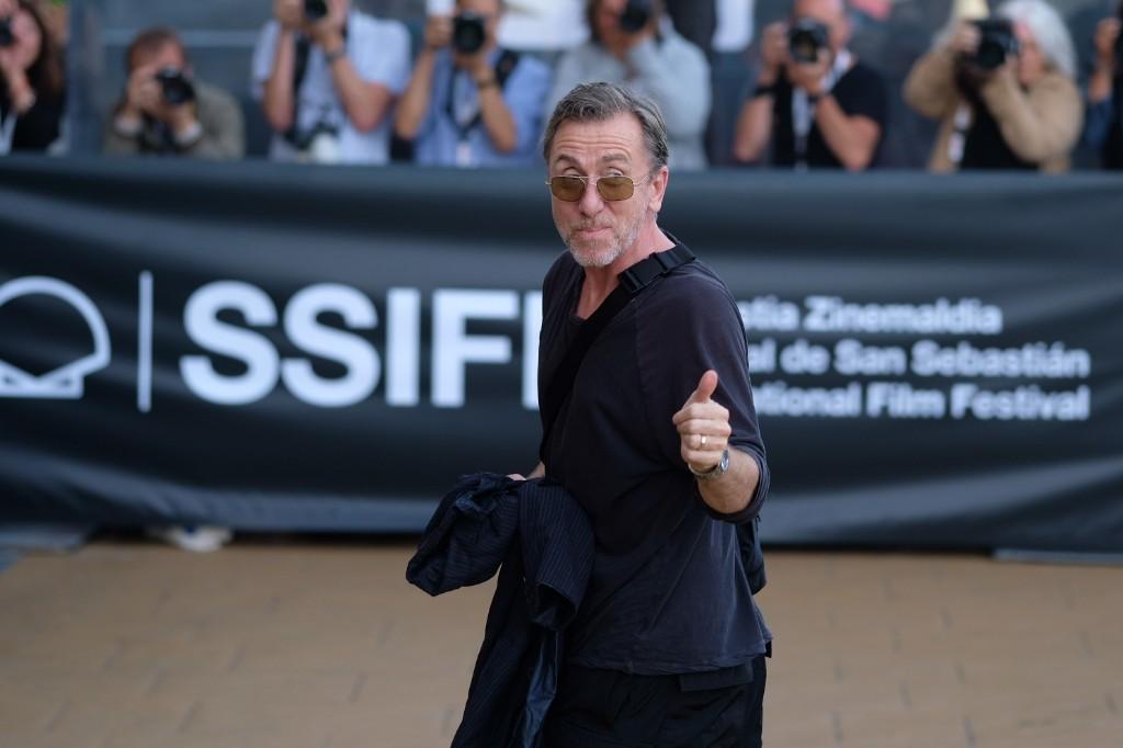 Tim Roth a su llegada al Hotel María Cristina. Fotos: Santiago Farizano