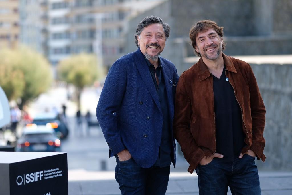 Los hermanos Bardem presentan 'Santuario' en Donostia. Fotos: Santiago Farizano