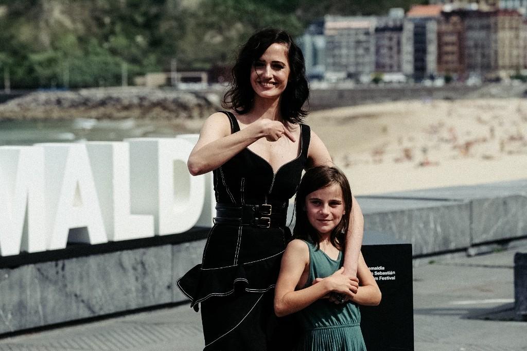 Las actrices de 'Proxima' Eva Green y Zélie Boulant-Lemesle. Fotos: Santiago Farizano