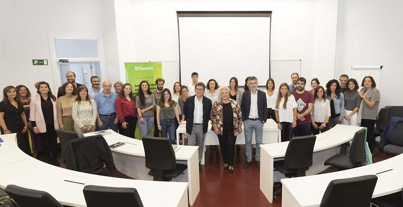 """Inicio del máster en """"Intervención con Personas en situación de Vulnerabilidad y Exclusión Social"""" de la Universidad de Deusto."""