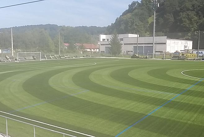 Campo de fútbol de Martutene. Foto: Ayto.