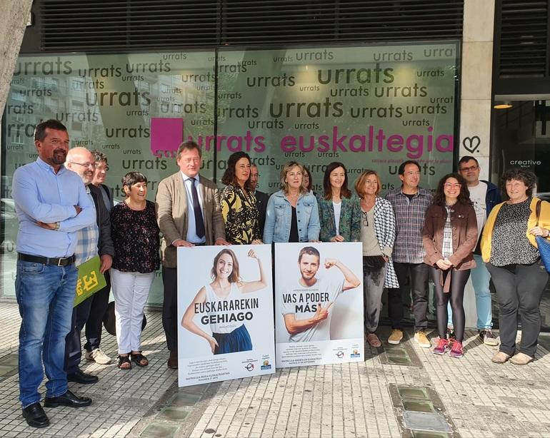 Presentación de la campaña en Donostia. Foto: Gobierno vasco