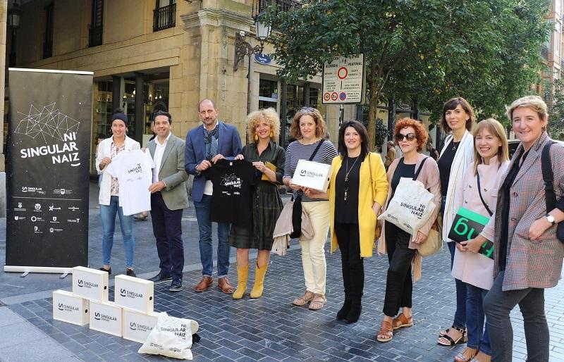 Presentación de la iniciativa 'Ni Singular Naiz'. Foto. Diputación.