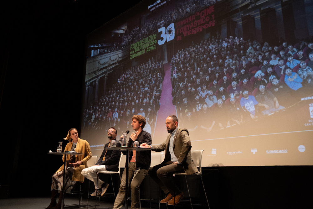 Presentación de la Semana de Cine Fantástico y de Terror. Fotos: Santiago Farizano