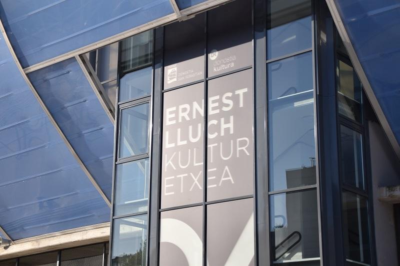 Casa de Cultura Ernest Lluch, en Anoeta. Foto: A.E.