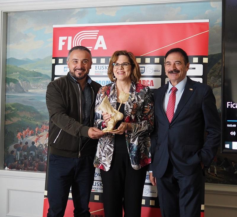 Presentación de FICA en Donostia. Ibabe, Myers y Sabadie.