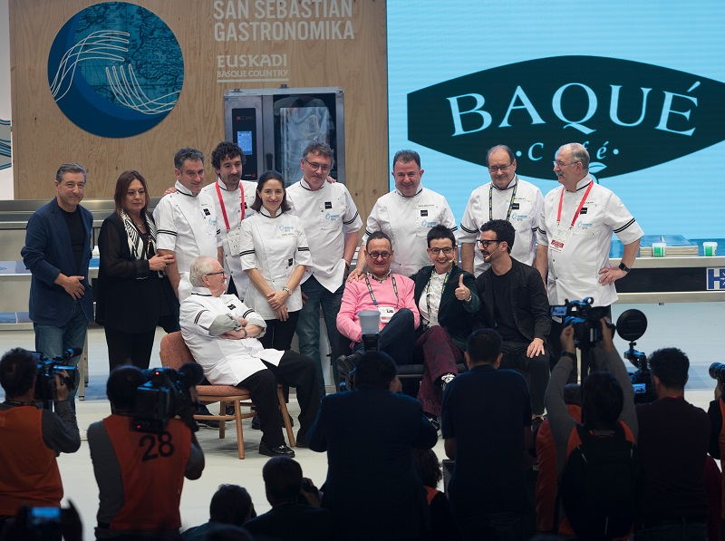 Inauguración de Gastronomika con Ruscalleda.