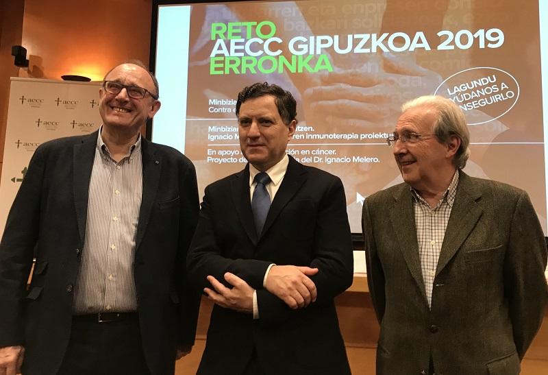 Presentación del reto de la AECC Gipuzkoa.