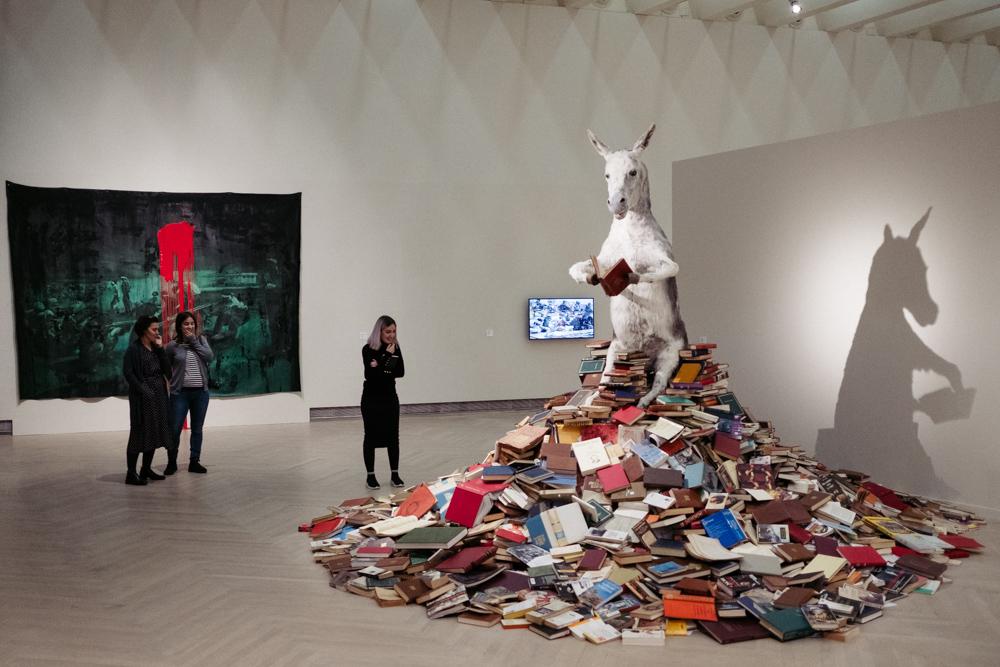 Exposición 'El sueño de la razón' en Kubo-kutxa. Fotos: Santiago Farizano